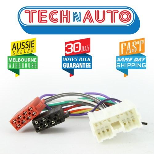 small resolution of mitsubishi iso wiring harness radio plug lead wire loom connector adaptor