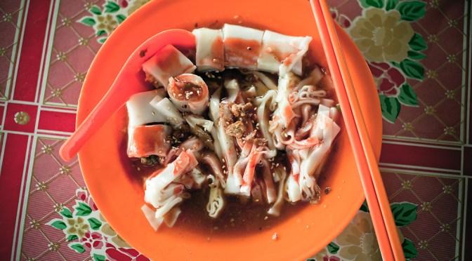 IPOH.怡保:Buntong.文冬:猪肠粉.Pig rice rolls