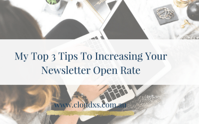My Top 3 Tips to Increasing Your Newsletter Open Rate