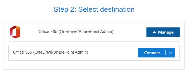 Homelaufwerke zu OneDrive for Business migrieren - Ziel verbinden