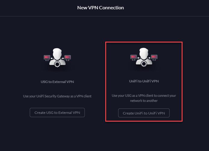 Einrichtung einer Azure VPN Verbindung zur Ubiquiti USG - USG VPN Typ