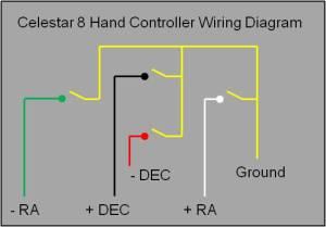 Celestar 8 hand controller schematic  Cats & Casses