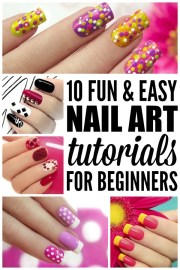 fun & easy nail art tutorials
