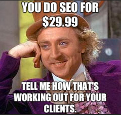 cheap seo packages in albany don't work