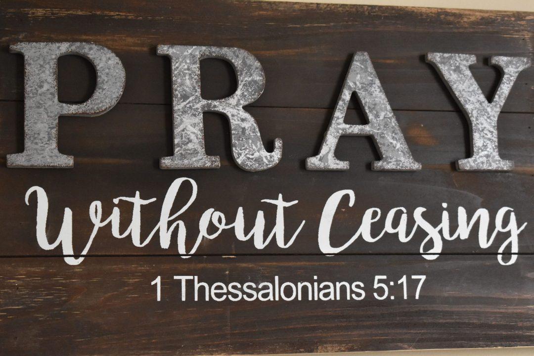 Worship through Prayer and Giving