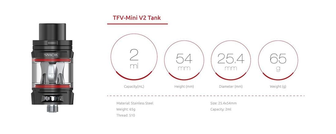 SMOK Morph 219 Vape Starter Kit TPD 219W Box Mod with TFV