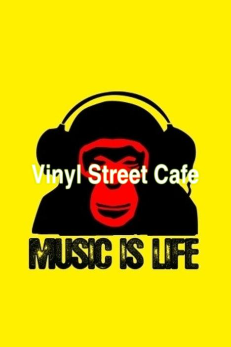 VINYL STREET CAFE's Logo
