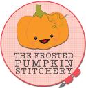 Frosted Pumpkin Stitchery