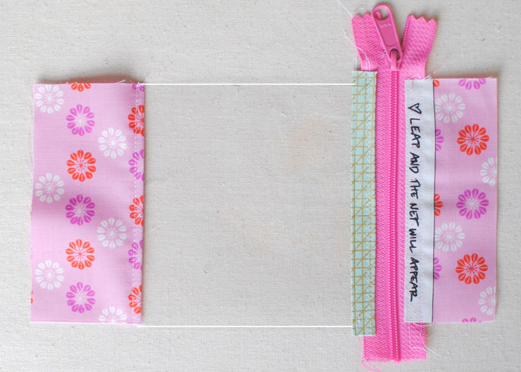 Last Minute Gift Tutorial Vinyl First Aid Pouch Clover