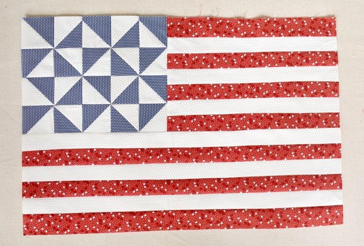 Free Pattern :: Star Spangled Mini