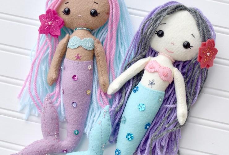 My Felt Doll :: Mermaids
