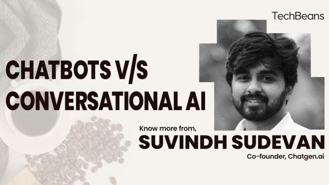 chatbot vs conversational AI