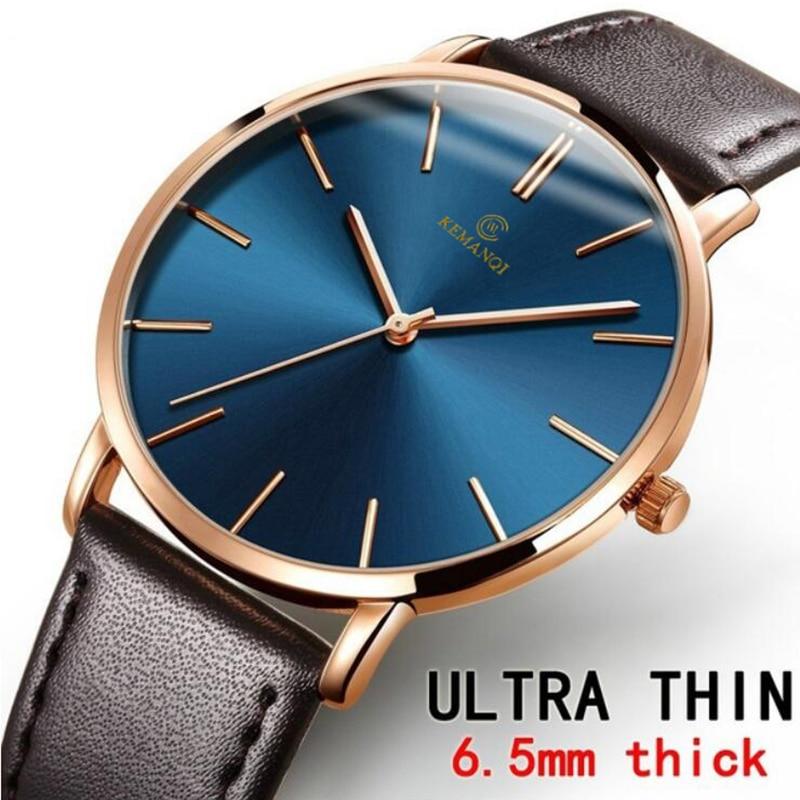Relogio Masculino Mens Watches Top Brand Luxury Ultra-thin Watch Men Watch Men's Watch Clock CLOVER JEWELLERY