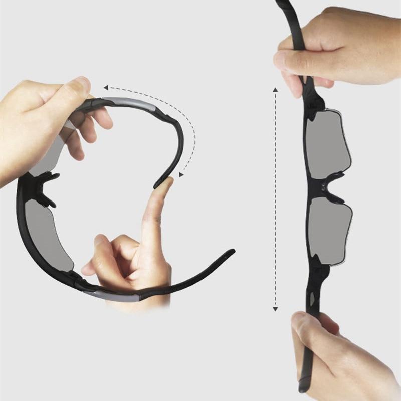 TR90 Driving Photochromic Polarized Sunglasses Men Travel Ultra-Light Chameleon Glasses CLOVER JEWELLERY