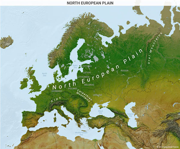 The Great Northern European Plain
