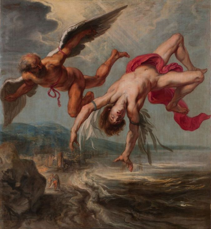 The downfall of Icarus