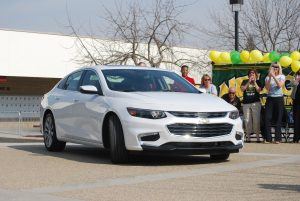 Photo by Valerie Shelton Miss Momo's new car.