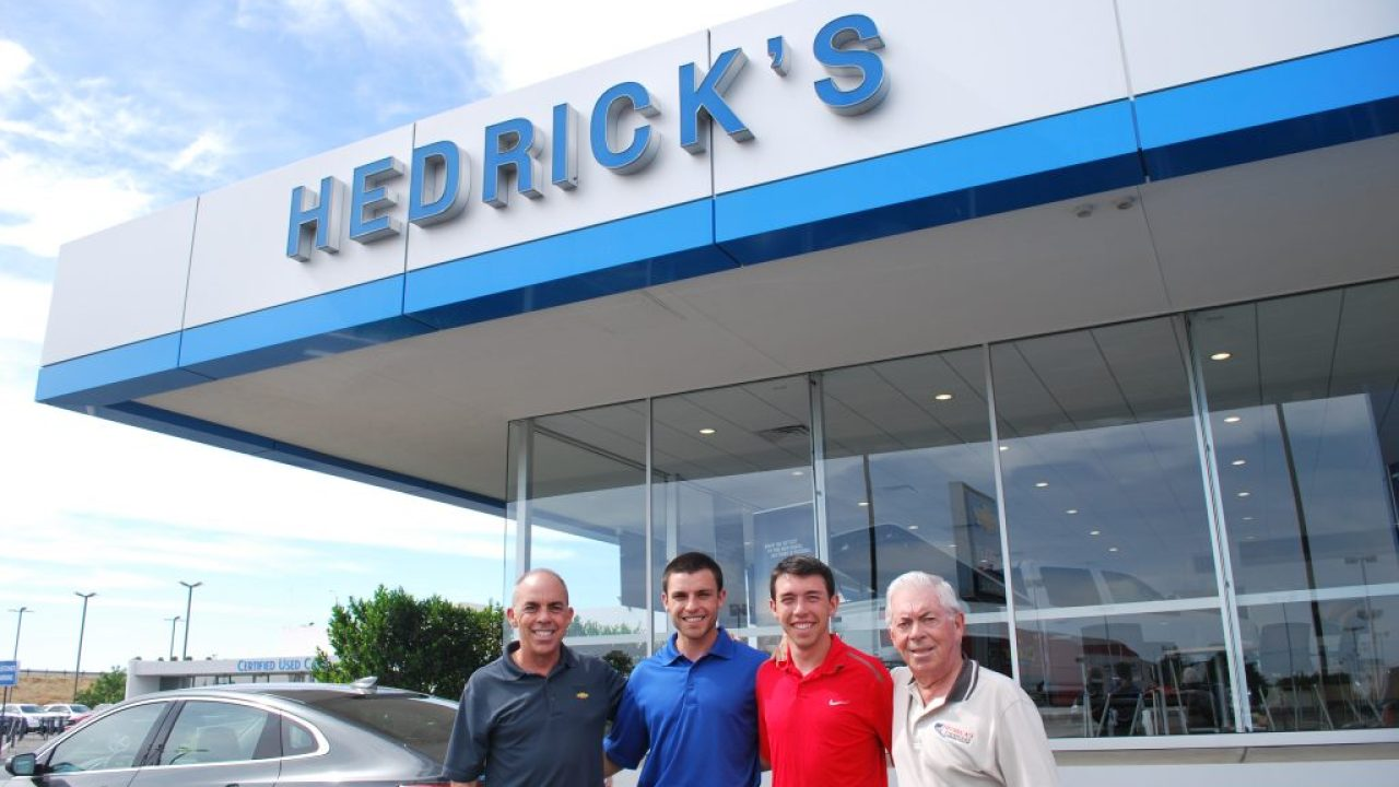 Hard Work And A Strong Bond Unite Three Generations At Hedrick S