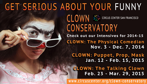 The Clown Conservatory Winter Clown Intensives