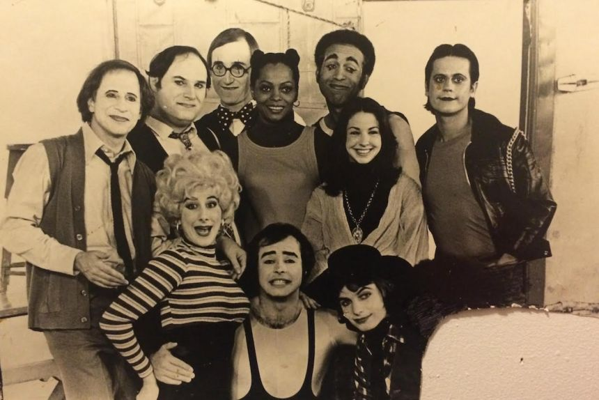 Richmond Shepard and his mime company