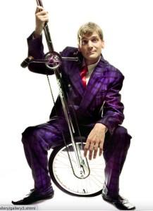 Rich Potter, artist of Cirkus In Quarantine