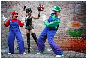 Boobs & Goombas:  A Super Mario Burlesque