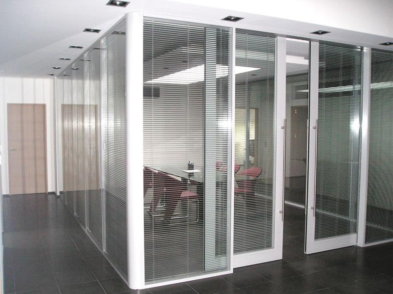 Portes Pour Cloisons Amovibles En Bois Verre Aluminium