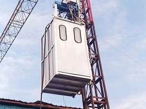 Rack pinion industrial lift