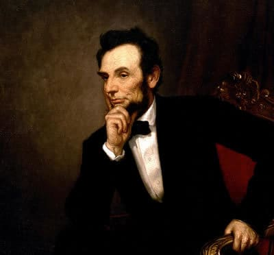 Was Abraham Lincoln a real historical figure?