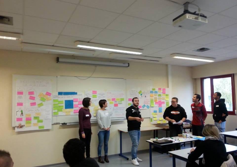 La Silver Economie expliquée en agilité aux étudiants de l'IUT d'Alençon