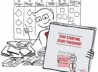 Traduction de « Stop starting, start finishing », Lean-Kanban University