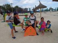 La joaca pe plaja