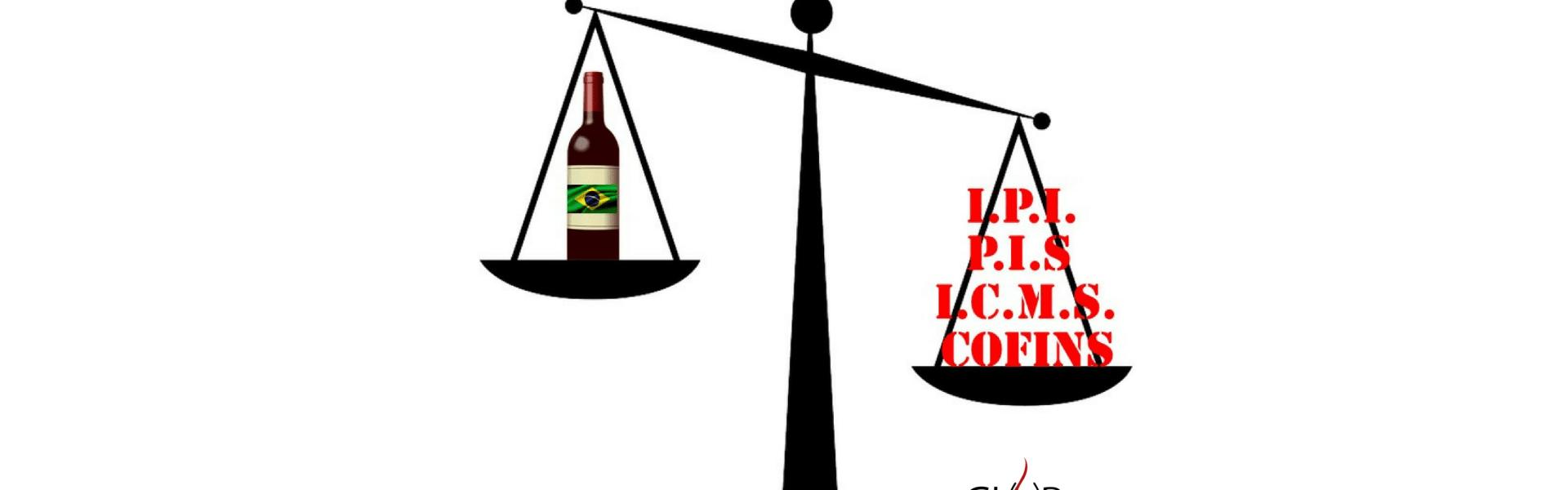 custos de Importação do vinho e impostos