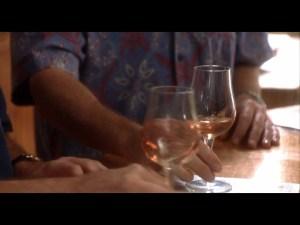 Quarto passo per la degustazione del vino