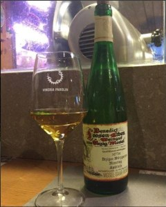 Riesling in un bicchiere
