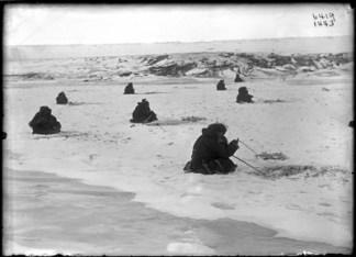 AMHN Ice fishing, Siberia 1900