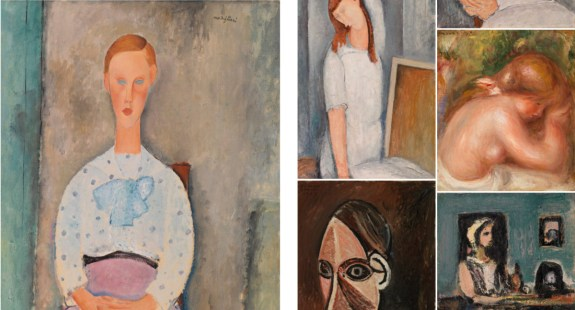 Barnes new collection website modigliani autres