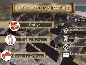 Cherbourg chateau ra image appli 1