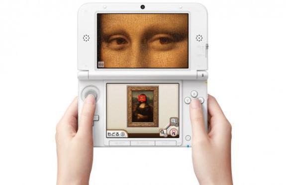 Louvre nintendo user