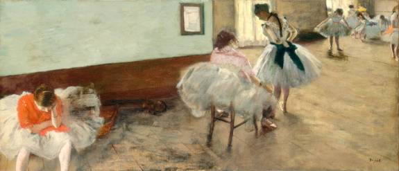 La Leçon de danse, Edgar Degas, 1879 (Collection National Gallery of Art, Washington)