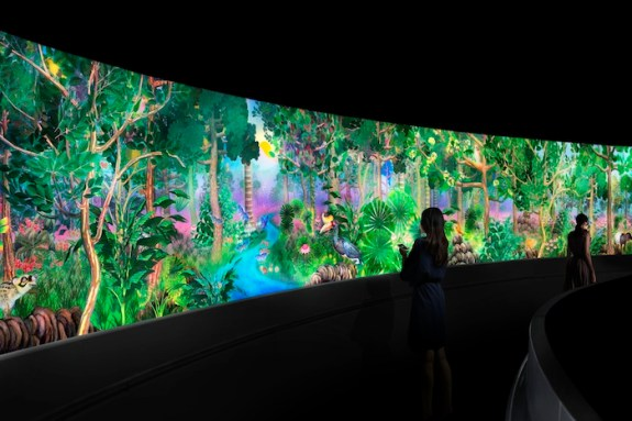 National Museum of Singapore story of forest teamLab 3