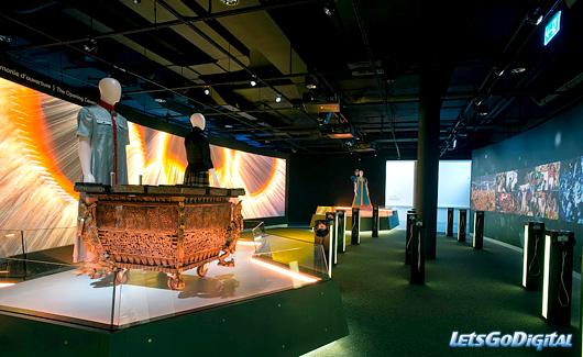 Olympic museum photo intérieur grand ecran interactif3