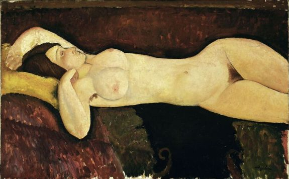 Reclining Nude, 1919, MoMa New York