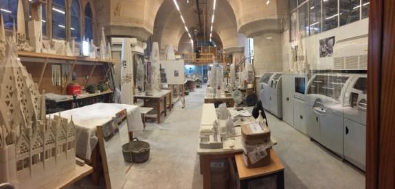 Atelier d'architecture de la Sagrada Familia équipé de 2 imprimantes 3D (3dprintingindustry.com)