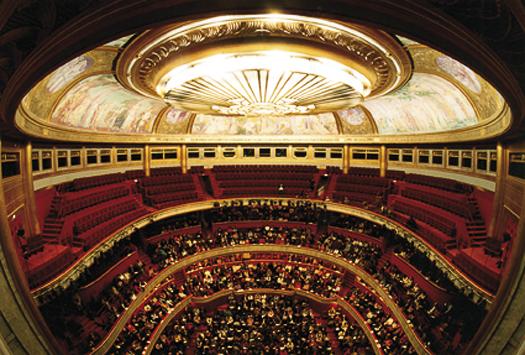 Theatre champs elysées salle