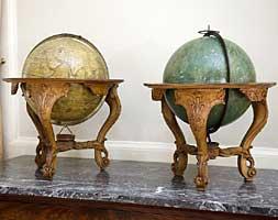Les 2 globes de l'Abbé Nollet