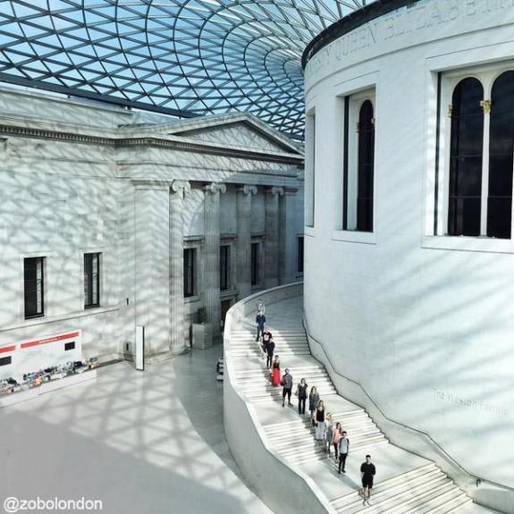 Premier #emptybm au British Museum (c) zobolondon