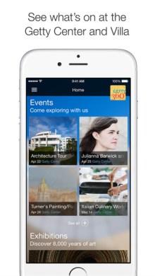 getty360 appli 1 events