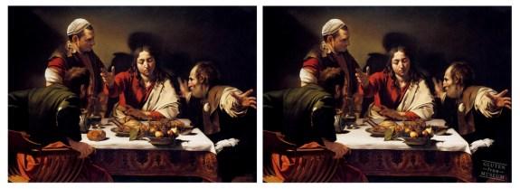 d'après Caravaggio (glutenimage.tumblr.com/)