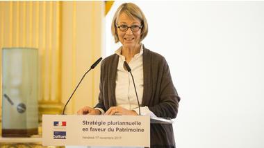 mcc Francoise-Nyssen-strategie-pluriannuelle-sur-le-patrimoine